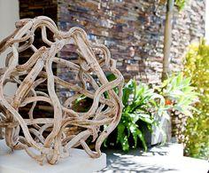 Vine Ball Sculpture