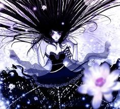 Dark Anime Girl Graphics Code | Dark Anime Girl Comments & Pictures
