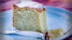 Citroen amandel olijfolie cake
