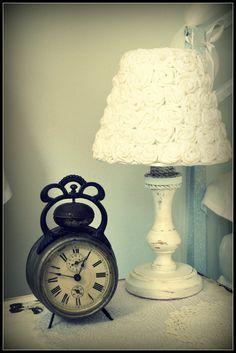 lamp - my shabby white home