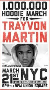 1,000,000 Hoodie March for Trayvon Martin.