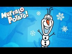 How to Draw OLAF Using Letters and Numbers with Muffalo Potato - YouTube