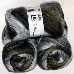 Jawoll Magic 6-fach Tundra von Lang Yarns - Heikes Handgewebtes: Traumhafte Wolle für Socken und noch viel mehr - dreamlike wool for socks and much more