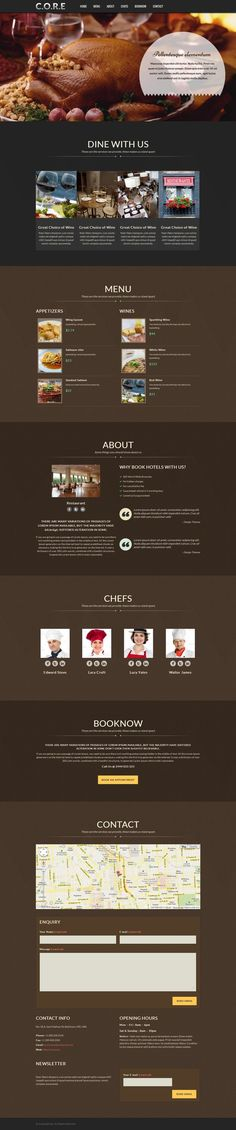 Core is Responsive One Page WordPress Theme with lot of features like short-code generator, one click demo installer, appearance manager, SEO integration options, etc. This Single page theme is a perfect pick for businesses, creatives, and individuals. In the latest version, this theme is made to be suitable for Spa, Restaurant, and Multipurpose Websites.
