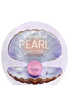 Αυτή η μάσκα φύλλων θα φωτίζει κάθε κουρασμένο, θαμπό δέρμα με εκχύλισμα από πραγματικό μαργαριτάρι. Glow Mask, Sheet Mask, Masks, Day, Mascaras, Pearls, Fabric, Face Masks