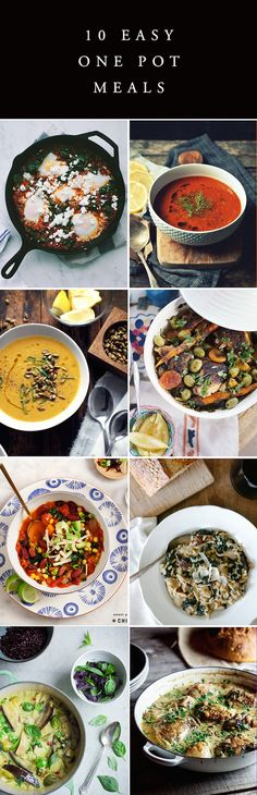 10 Easy One Pot Meal Recipes
