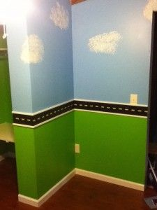 Does your little boy like cars,construction, or tractors? Then this bedroom remodel will be a perfect for your little boy.