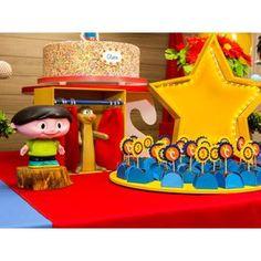 Cláudio e Júpiter também fazem parte dessa festa linda ;-)