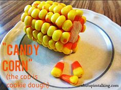 Candy Corn on the Cob!!!! This is a must-try.