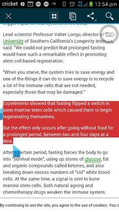 Fasting JumpStarts