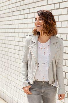 LoLus Fashion: Grey Moto Jacket
