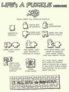 21 Best Lifes A Puzzle Images Puzzle Pieces Puzzles Bricolage