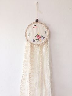 Cross stitch centre is still one of my favourites and perfect for a nursery Dream Catcher, Centre, Cross Stitch, Nursery, Trending Outfits, My Favorite Things, Unique Jewelry, Handmade Gifts, Etsy