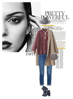 """""""Zaful 12"""" by sinsnottragedies ❤ liked on Polyvore featuring Frame Denim, Chloé and Brixton"""