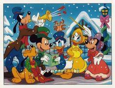 Billedresultat for disney julebilleder Mickey Mouse Christmas, Christmas Cartoons, Mickey Mouse And Friends, Mickey Minnie Mouse, Disney Mickey, Walt Disney, Christmas Cartoon Characters, Christmas Scenes, Christmas Music