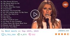 Download Celine dion songs playlist videos mp3 - download Celine dion songs playlist videos mp4...