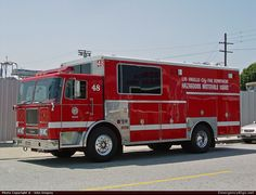 Seagrave Marauder Haz Mat Los Angeles Fire Department Emergency Apparatus Fire Truck Photo