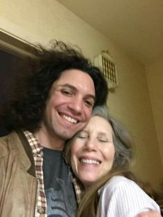 Danny and his Mom!