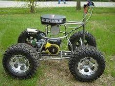 Off road bar stool racer Go Kart Plans, Diy Go Kart, Cool Bar Stools, Karts, Drift Trike, 4 Wheelers, Buggy, Pedal Cars, Mini Bike