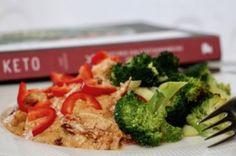 KETO - en boganmeldelse - Bagvrk.dk Lchf, Keto, Broccoli, Chicken, Vegetables, Food, Essen, Vegetable Recipes, Meals