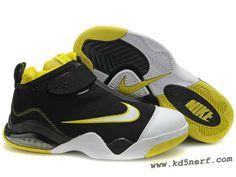 Nike Zoom Flight Club White Black Yellow - Tony Parker Shoes Dis 5c157286a