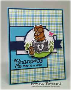"airbornewife's stamping spot: MOJO442 ""GRANDMA YOU'RE A HOOT"" Lawn Fawn Stamps *BLOG GIVEAWAY* PLUS Measurements!!"