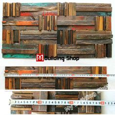 Painted wood mosaic wall tile NWMT171 ancient wood panel natural wood mosaic pattern kitchen backsplash tiles Wholesale wood mosaic tile, wood art mosaic pattern,rustic wood wall tile,classic wood mosaic tile kitchen backsplash,3D mosaic tile,wood wall tile [NWMT171] - $54.49 : MyBuildingShop.com