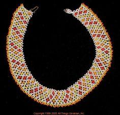 Ukrainian Gherdany Beadwork  # 05-6071 handmade in Ukraine. Originally sold on http://www.allthingsukrainian.com/Jewelry/index.htm