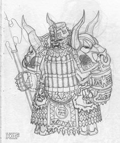 Chaos Dwarf Immortal