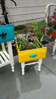 67 Upcycled Furniture Planter Ideas - Unique Balcony & Garden Decoration and Eas. 67 Upcycled Furniture Planter Ideas – Unique Balcony & Garden Decoration and Easy DIY Ideas