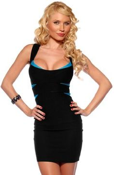 Cross Back Fitted Bandage Clubwear Cocktail Party Dress - Listing price: $59.99 Now: $39.99
