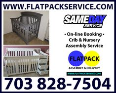 Crib Assembly in DC MD VA | Flatpack Assembly Service • 202 277-5911 • On-line Booking • YELP • 410 870-9337 • Crib Assembly in DC MD VA | Flatpack Assembly Service • Best in Class • 10 Best Furniture Assembly Services in Washington, DC • Cribs • Nurseries • 202 277-5911 • GOOGLE Assembly Service – IKEA • Cribs • 301 971-7219 • SNIGLAR • GULLIVER • SUNDVIK • GONATT 703 828-7504 • IKEA SMÅGÖRA Article Number 404.612.35 • Same Day Service • Online Crib Assembly Service • FLATPACKSERVICE.COM •…