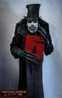 Horror Movie Art : The Babadook 2014 Horror Movie Costumes, Horror Halloween Costumes, Scary Movie Characters, Scary Halloween Costumes, Scary Movies, Horror Movies, Scary Dreams, The Babadook, Horror Artwork