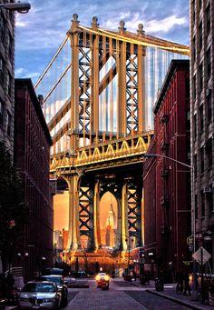 breathtakingdestinations: Manhattan Bridge - New York City - New York - USA (von m-child)