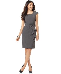 Great work dress.  Rafaella sheath w/cap sleeves.