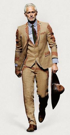 Los nuevos trajes inspirados en la charreria Mexicana. Fashion week Milan. #anglezj