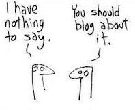 Funny Cartoon - Nothing To Say? Social Media Humor, Types Of Social Media, Extreme Makeover, Blog Names, Funny Cartoons, Laugh Out Loud, Make Me Smile, Decir No, How To Start A Blog