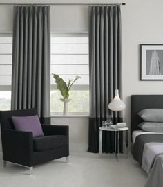 Grey curtains are a must #HouseOfBeyonce