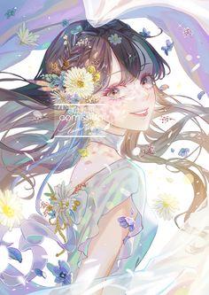 Pretty Anime Girl, Beautiful Anime Girl, Kawaii Anime Girl, Anime Art Girl, Manga Art, Manga Anime, Cute Anime Character, Character Art, Cover Wattpad