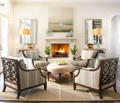 Best Seating for Small Living Room. 20 Best Seating for Small Living Room. Small Living Room Ideas for More Seating and Style Traditional Living Room Furniture, Small Living Room Furniture, Living Room Bench, Accent Chairs For Living Room, Living Room With Fireplace, Formal Living Rooms, Living Room Sets, Living Room Designs, Living Room Decor