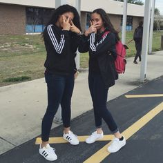 me and maria todayy!  twinning is winning