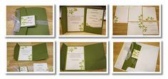 Bits of Paper: Pocket Wedding Invitation - Silhouette Cut File!