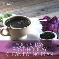 This holiday season, relish each and every bite, knowing that this balanced five-day plan can get you back on track.