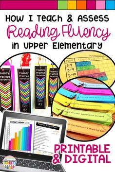 Are you teaching reading fluency? Your students will love improving fluency with these practice activities and assessments for 3rd