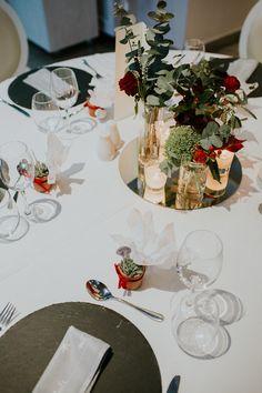 menu, wedding, red velvet theme, elaion loft, athens wedding, wedding party, red wedding, xmas concept, table setting