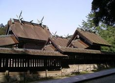 Izumo Shinto shrine in Shimane  — the Izumo shrine has been rebuilt 25 times, the last in the 18th century, and also moved several times. It's the oldest shrine in the country, but ranks only number two in order of importance. (The enshrined deity is Okuninushi no Mikoto, the nephew of the Sun Goddess.) One area is off limits to mortals and fenced off. Repairs i/c softening thin sheets of Japanese cypress by soaking them in water, then using them to thatch the 600-sq.m roof with bamboo…