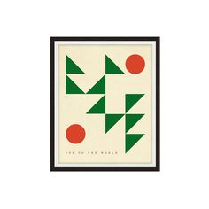 Geometric Joy - 15 Holiday Decorations We'll Want To Keep All Year Round - Photos