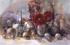 Yuko Nagayama Watercolor Fruit, Watercolor And Ink, Watercolour Painting, Art Fantaisiste, Art Station, Still Life Art, Japanese Artists, Whimsical Art, Cool Artwork