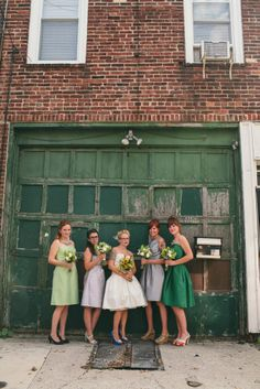 Wes Anderson Inspired Brewery Wedding: Jessica  David