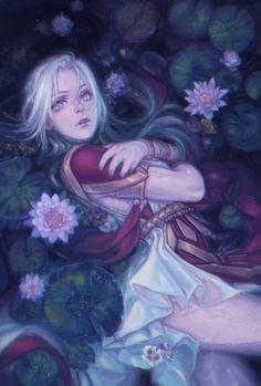 Fire Emblem Characters, Dnd Characters, Final Fantasy Vii, Fantasy Art, Ophelia Painting, Character Inspiration, Character Design, John Everett Millais, Fire Emblem Games